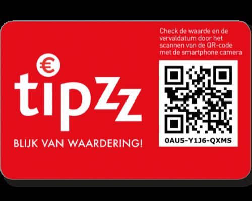 Tipzz-voucher rood